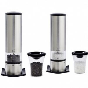 Peugeot ELiS Sense u'Select Electric Salt and Pepper Mill Set